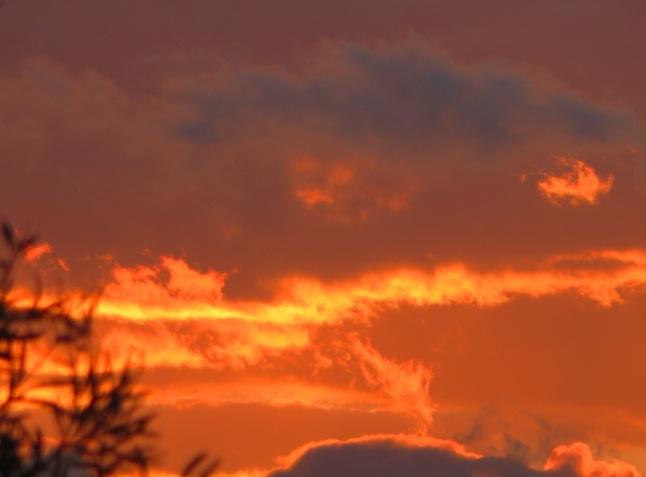 Boxing Day Sunset Tuggeranong Canberra Australia 26th December 2014 Sonya Heaney